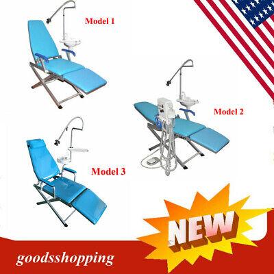 Multifunctional Dental Portable Folding Chair Moblie Unit Led Light For Hospital