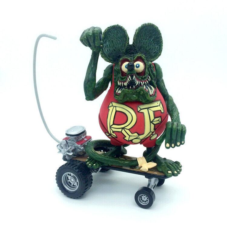 Red Rat Fink Rare New Big Daddy Sidewalk Surfer Ed Roth Skateboard Action Figure