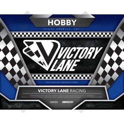 Julia Landauer 2018 Victory Lane 8Box Hobby Case Driver Break  3 Sonoma