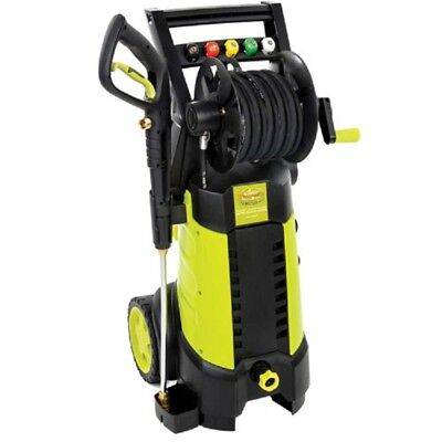 New Sun Joe 2030 Psi 1.76 Gpm 14.5-amp Electric Pressure Washer Whose Reel