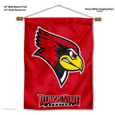 Isu Redbirds Wall Hanging Banner