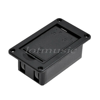 10 Pcs 9 V Battery Case Box Cover for Guitar Bass No Terminal