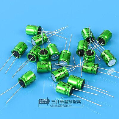 10pcs Nichicon Muse Es Bp 16v 100uf El Condensador Electroltico F2089 Cy.