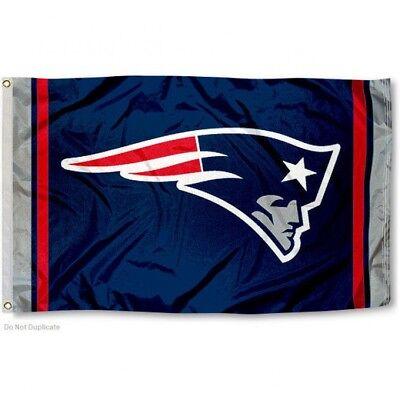 NEW ENGLAND PATRIOTS FLAG 3'X5' NFL TEAM LOGO BANNER: FREE SHIPPING - Patriots Banner