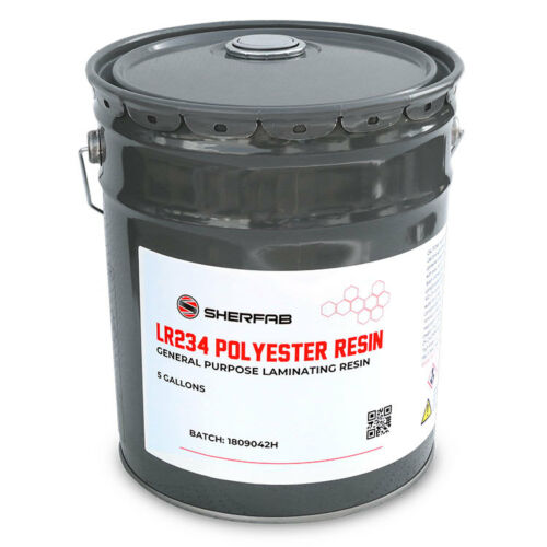 Polyester Laminating Resin (MEKP Hardener Included)- 5 Gallon Pail