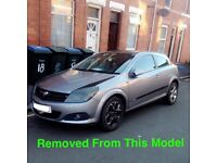 VAUXHALL ASTRA SXI 1.6 PETROL SILVER 2006 BREAKING FOR ALL PARTS