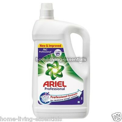 Ariel Laundry Liquid 100 Wash 5L Bottle Washing Detergent P&G Pro