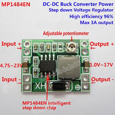 Dc-dc Buck Step-down Regulator Converter 4.240v To 3v 3.3v 5v 9v 12v 24v Module