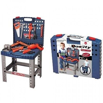 Toy Tool Set Workbench Kids Workshop Toolbench, New, Free Shipping