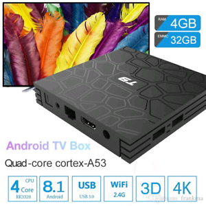 T9 Android Box with 1 month free IP Tv service