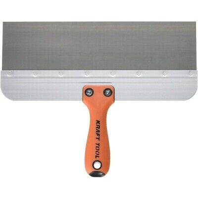 Kraft Tool Deluxe Drywall Taping Knife Stainless Steel 12 X 3 Made In The Usa