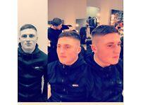 Free gentleman haircuts