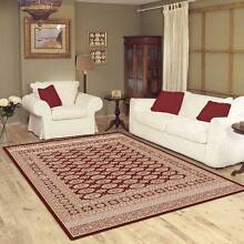 TRADITIONAL FLOOR RUG-CARPET-160CM X 230CM-COLOR-CHERRY(10888) Bass Hill Bankstown Area Preview