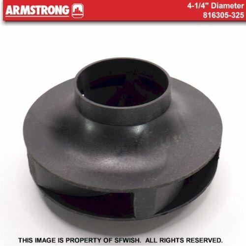 """NEW Armstrong Pump 816305-325 - 4-1/4"""" NFI Impeller *OPEN BOX!*"""