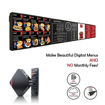 Digital Signage Menu Players For Restaurant Menu Boards Free Signage Software