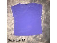 Size 12 | Purple Zara Top | Worn Once