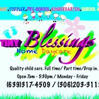 Tiny blessings home daycare