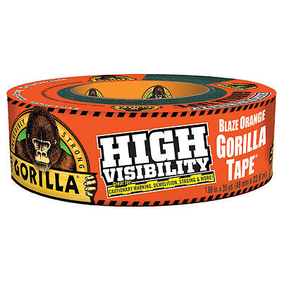High Visibility Blaze Orange Gorilla Tape Duct Tape