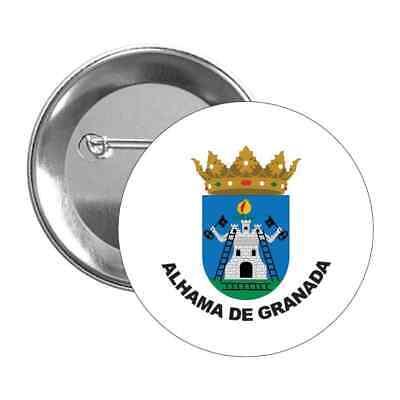 CHAPA ESCUDO ALHAMA DE GRANADA - GRANADA