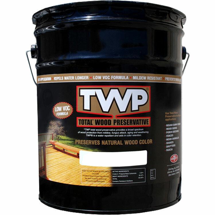 TWP 1511 California Redwood Low Voc Preserv Stain 5gal