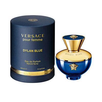 Versace Dylan Blue for Women Eau de Parfum Spray 3.4 oz Brand New Sealed