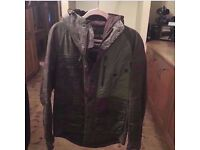Mens Barbour International Wax Jacket - Small