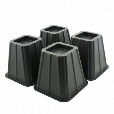 Set of 4 Bed Risers Raise Furniture ...
