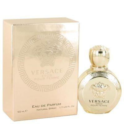 Versace Eros Pour Femme Perfume For Women 0.17 oz 5ml Eau De Parfum Mini EDP