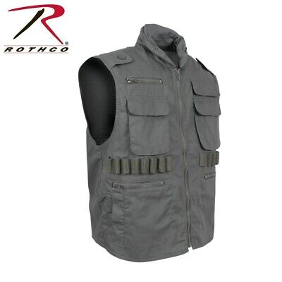 Rothco 7566-l Olive Drab Military Tactical Ranger Vest With Hoodlarge