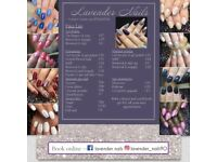 Nottingham nail technician acrylic & gel nail extensions, gel polish, *20% student discount*