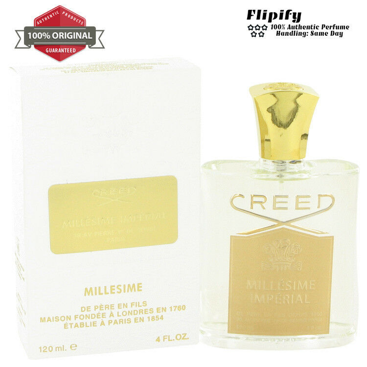 MILLESIME IMPERIAL Cologne 4 oz 1 oz Millesime Spray by Cree