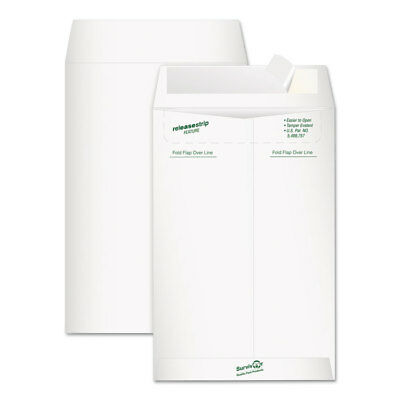 Survivor Tyvek Mailer Side Seam 6 X 9 White 20pack R1319