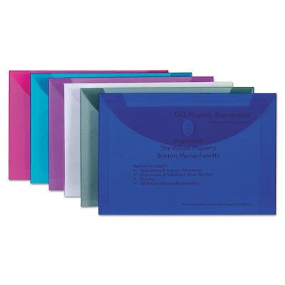 Loop Poly Envelope (C-Line Reusable Poly Envelope Hook and Loop Closure 9 1/2 x 13 Assorted 58000 )