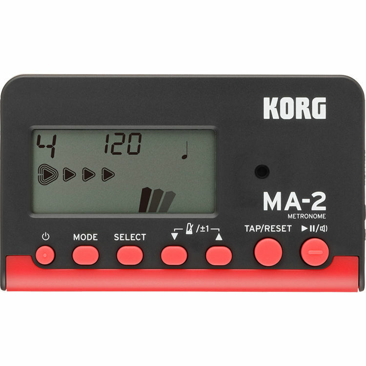 Korg MA-2 Metronome Red/Black 8 Types of Beat Patterns