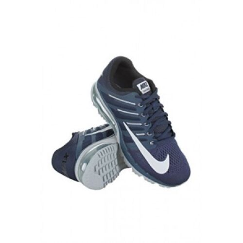 Nike Men's Air Max Excellerate 4 Mid Navy/Pr Pltnm/Wolf Grey/Blk Running Shoe 9 Men US 806770-400