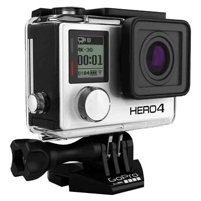 GoPro Hero 4 Silver Edition 4K Action Camera Waterproof with LCD Touchscreen