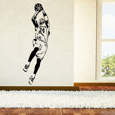 NBA Kobe Bryant Wallpaper Basketball Player Wall Stickers Home Decor Fan Gifts