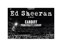 1 Standing Ed Sheeran Ticket!