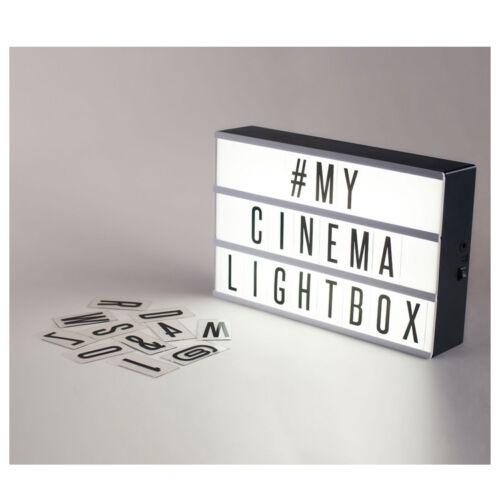 how to use cinema box