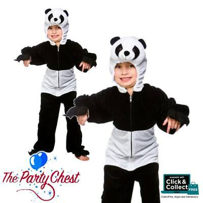 CHILD PANDA BEAR COSTUME Movie Panda Zoo Animal Cute Fancy Dress Outfit 4418