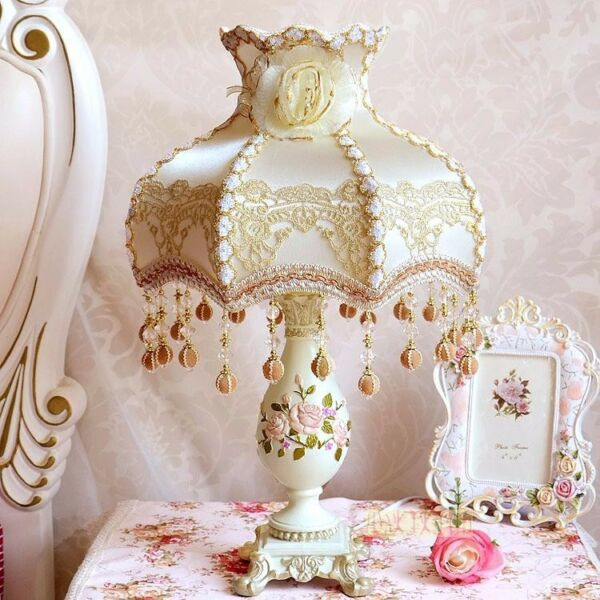 European Countryside Style Table Lamp