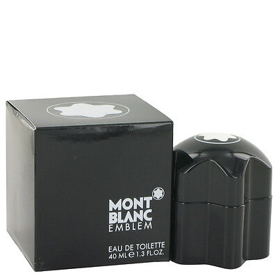 EMBLEM BY MONT BLANC FOR MEN-EDT-SPRAY-1.3 OZ-40 ML-AUTHENTIC-MADE IN FRANCE