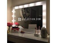 Hollywood vanity makeup mirrors