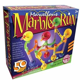 House of Marbles 50 piece Marble Run **New and Unused**