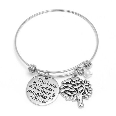 Bracelet, Mother/Daughter Charm, Silver Plated](Mother Daughter Charm Bracelets)