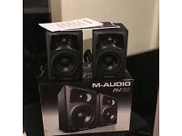 SPEAKERS - MAUDIO AV32 ACTIVE SPEAKERS