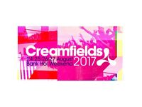 CREAMFIELDS 3 Day Silver Camping