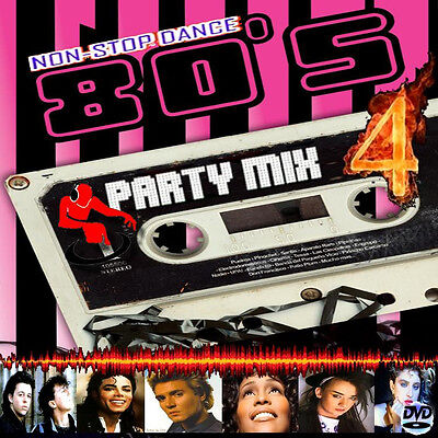 The 80s Party Mix 4 -Non Stop Dj Video Mix Dvd- 95 Minutes Of Hits!!! 1980 - '89