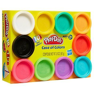 Play Doh Case Of Colours 10 Pack Modelling Tubs