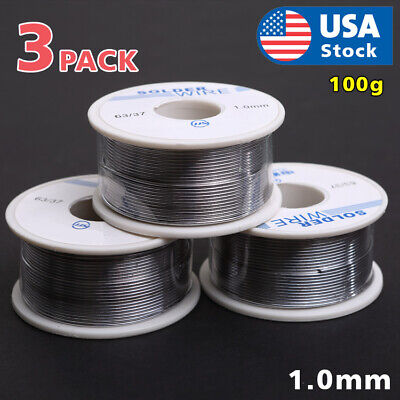 6337 Tin Lead Rosin Core Flux Solder Wire For Electrical Solderding 1.0mm 300g